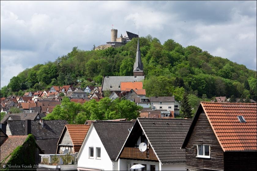 Biedenkopf: evangelische Stadtkirche und Schloss