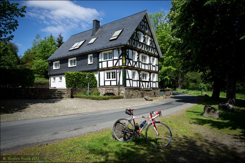 Mein Wilier Triestina in Heiligenborn