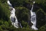 Um diese Wasserfälle (und mehr) so sehen zu können, braucht man in Trafoi nur links nach Drei Brunnen abbiegen. Wäre allerdings schlecht während des Giro selbst. ;-)