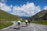 Kurz nach dem Abbiegen vom Stilfser Joch und kurz vor der Schweizer Grenze. Der Umbrailpass führt uns in reiner Abfahrt in die Schweiz und das Val Müstair.