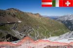 Stilfser Joch mit dem Höhenprofil der langen A-Strecke des Dreiländergiro