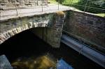 Auslauf des Wasserkraftwerks Bamenohl