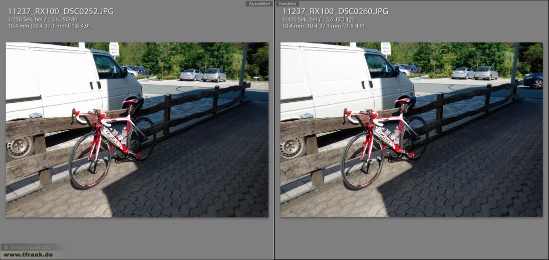 Sony RX100 Iso80 vs Iso125 Gesamt