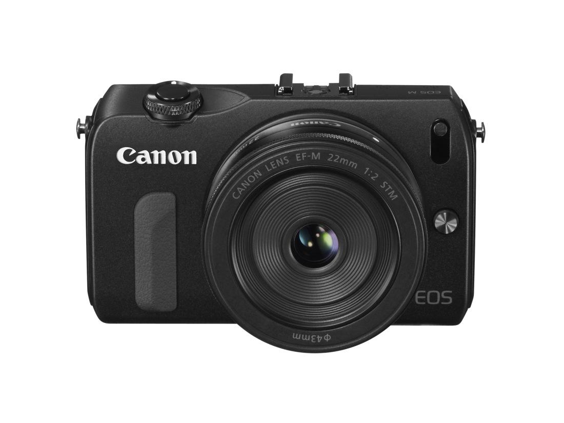 Canon EOS M mit EF-M 22 mm Objektiv (Foto: Pressefoto Canon)