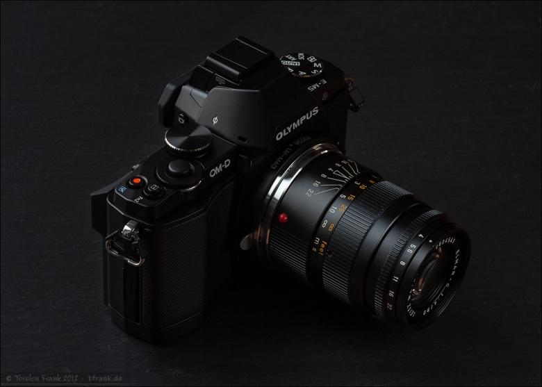 Olympus OM-D EM-5 mit adaptiertem Leitz-Wetzlar Elmar-C 90mm