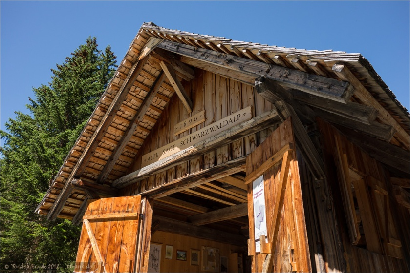 Die alte Säge Schwarzwald-Alp