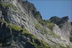 Die verlassene Bergstation Enge des ehemaligen Wetterhorn-Aufzuges.