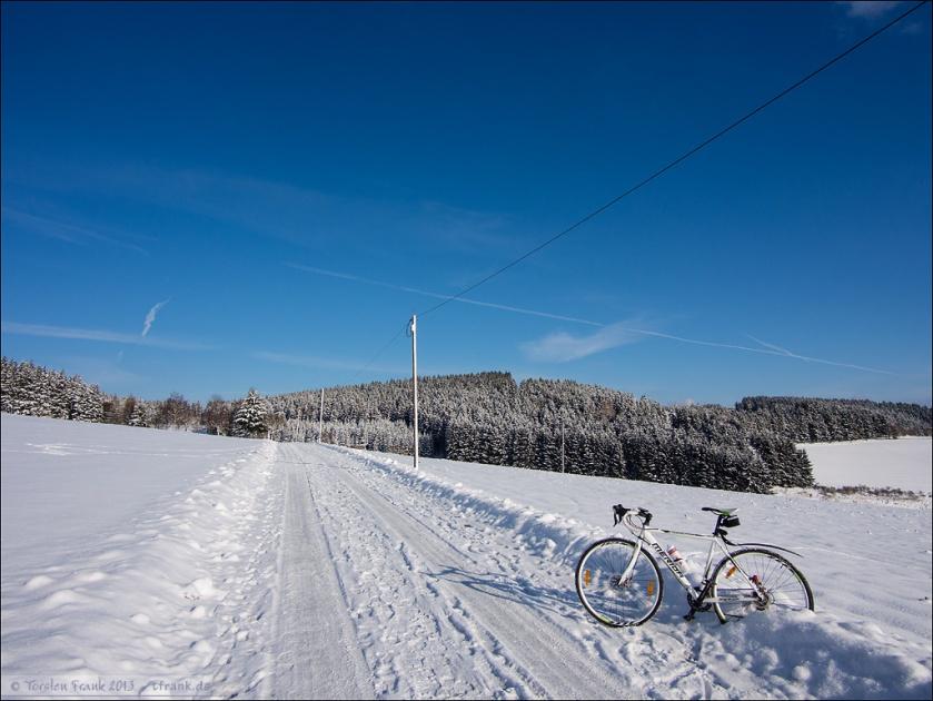 Schneepiste bei Birkelbach