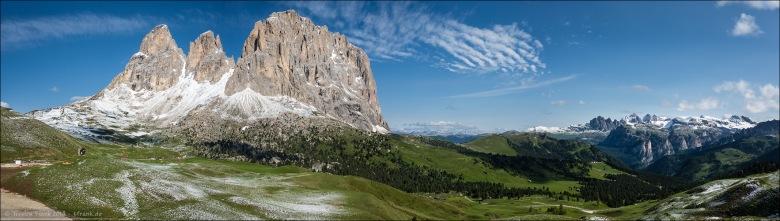 Sellajoch Panorama