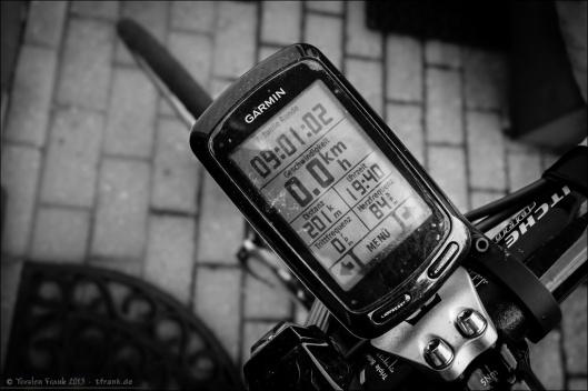 201 km auf dem Tacho