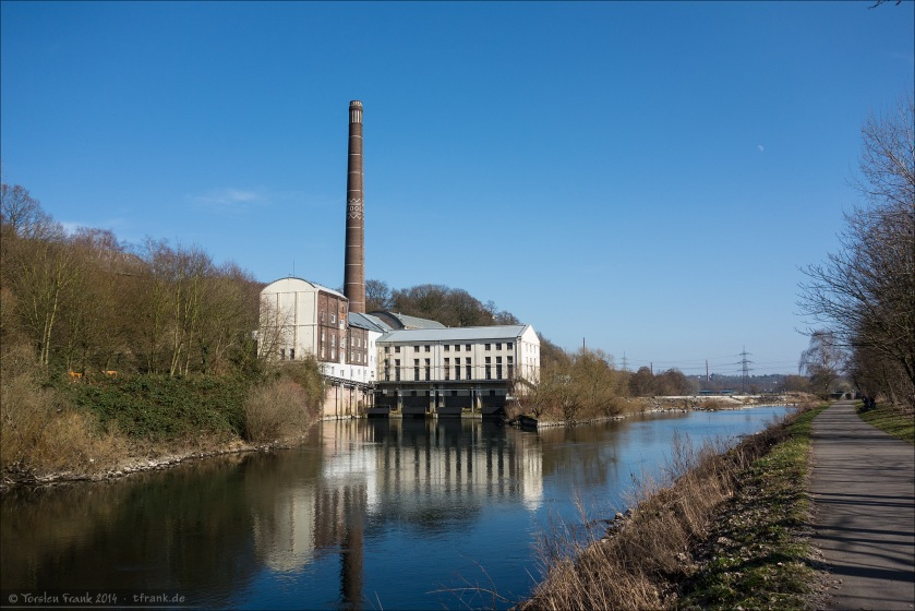 Die Horster Mühle an der Ruhr. Ein Stück meiner Teststrecke am beim BMC Grill and Ride Event.