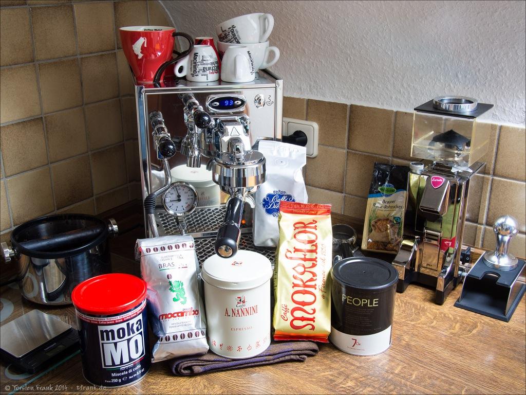 Espresso-Sorten Probierpaket