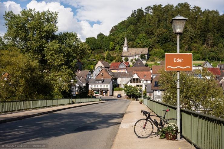 Bei Hatzfeld (Eder) auf dem Rückweg.