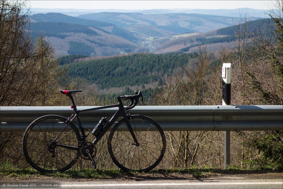 Rennrad mit Aussicht