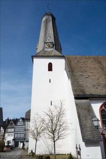 Die Kirche in Bad Laasphe.