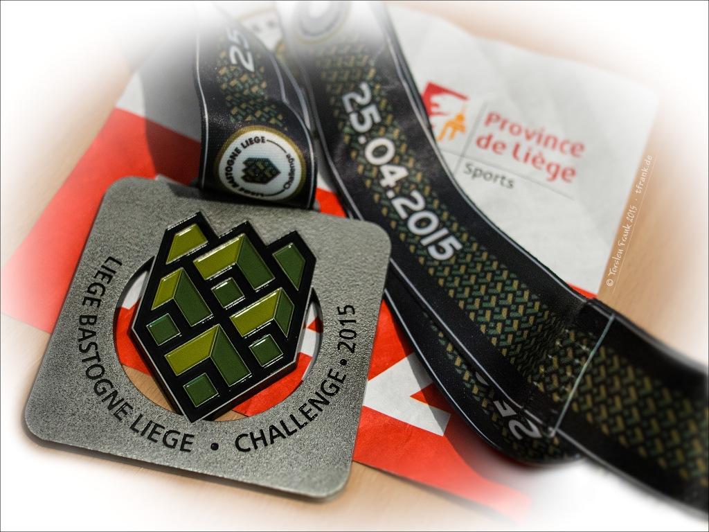 Schöne Erinnerung: eine markante Medaille!