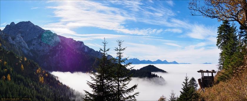 Tegelberg und Wolkenmeer
