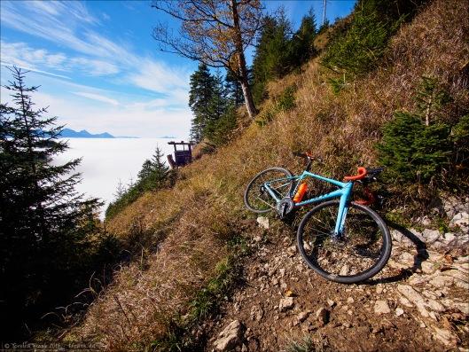 Velo-Mountaineering und Crossploring at it's best! Mit dem Rad am Berg. :)