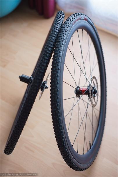 Carbon-Schlauchreifen-Laufradsatz
