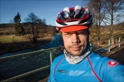 Wir sind Kinder von der Eder... Und tragen Giro-Helme und Castelli Gabba ;-)