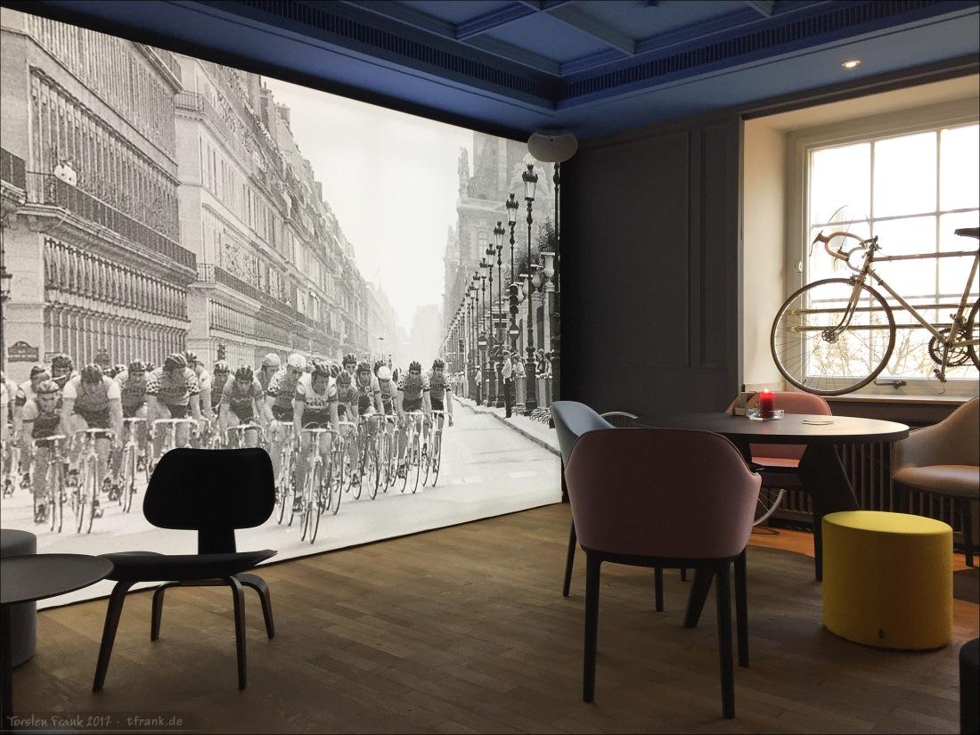 Mythos Tour de France im Café Vélo