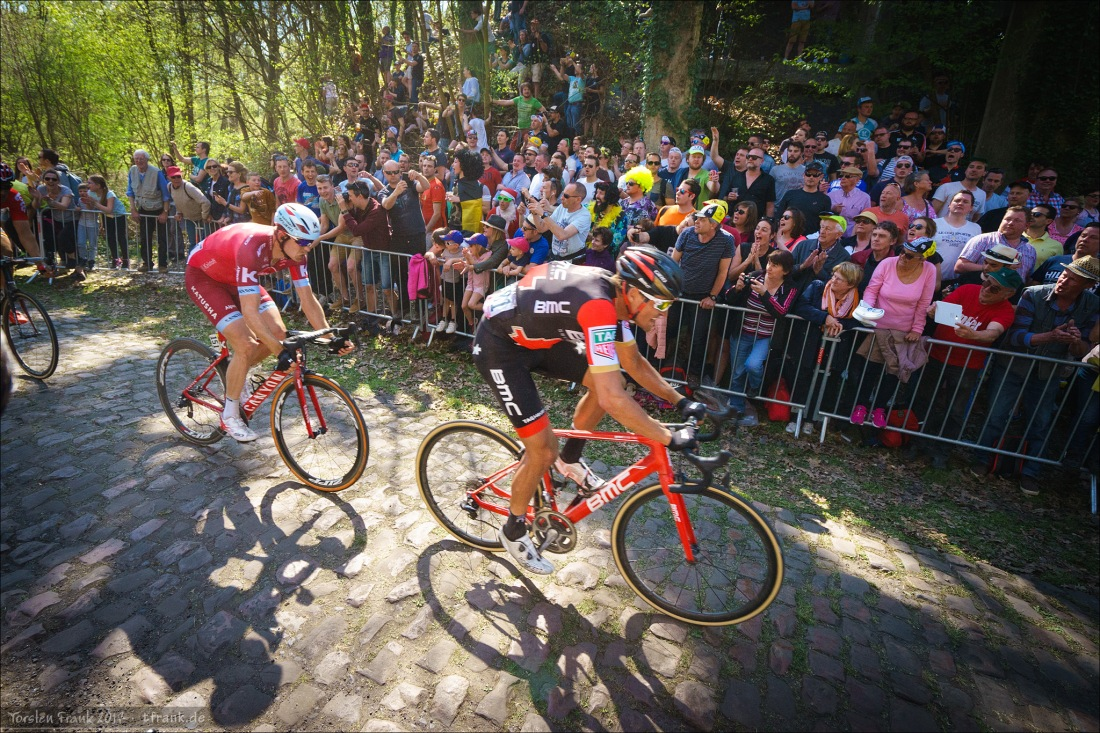 Greg van Avermaet, BMC Racing Team und Alexander Kristoff, Team Katusha Alpecin