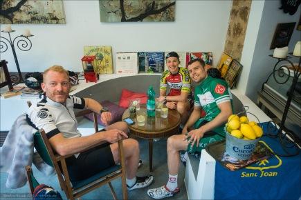Hannes, Jenni und Fabian.