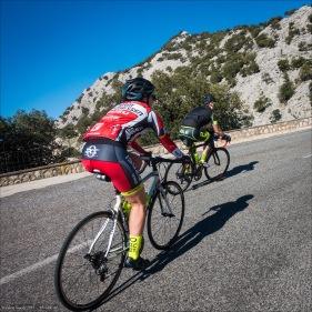 Jenni und Fabian am Puig Major, Mallorca 312.