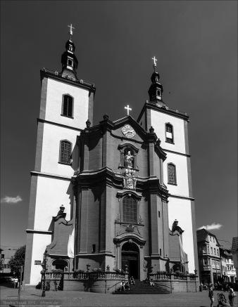 Die Stadtpfarrkirche in Fulda