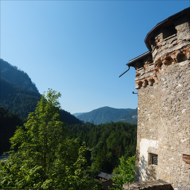 Und Was für ein Blick von Burg Fernstein!