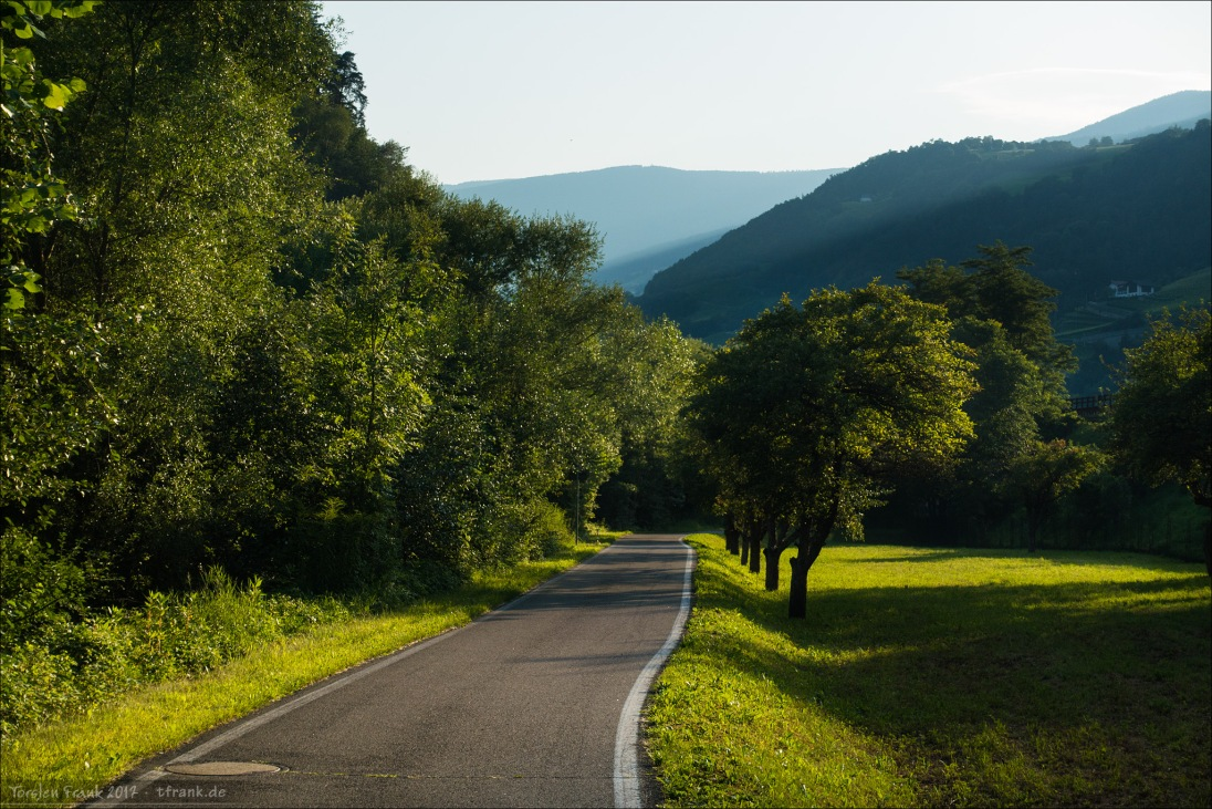 Wunderbarer Radweg.