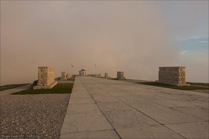 Gedenkstätte auf dem Monte Grappa