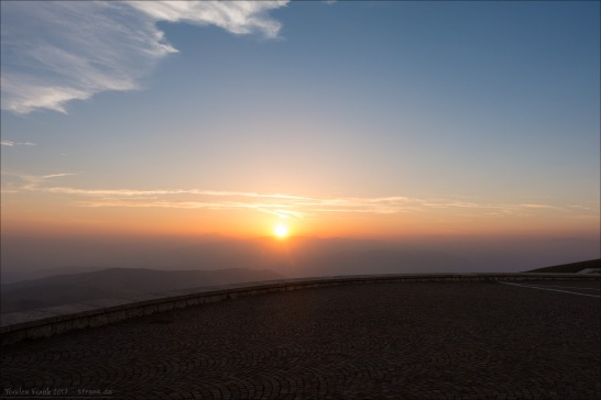 Monte Grappa Sonnenuntergang