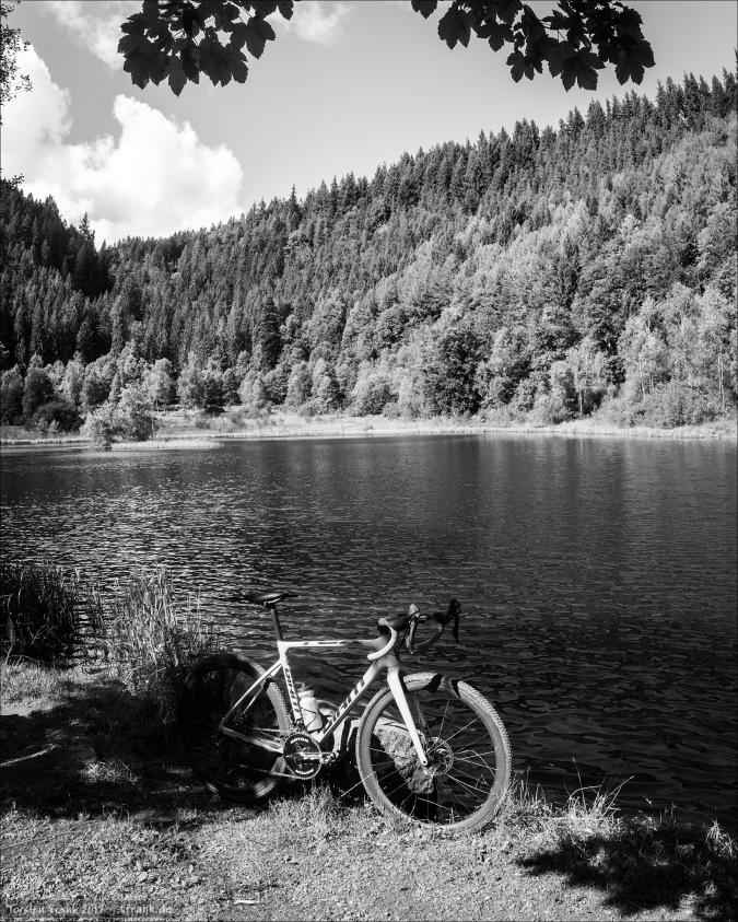 Der Sankenbachsee war mein Fotohighlight des Sonntags.