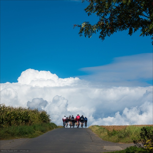 Tolles Wetter und beeindruckende Wolken...
