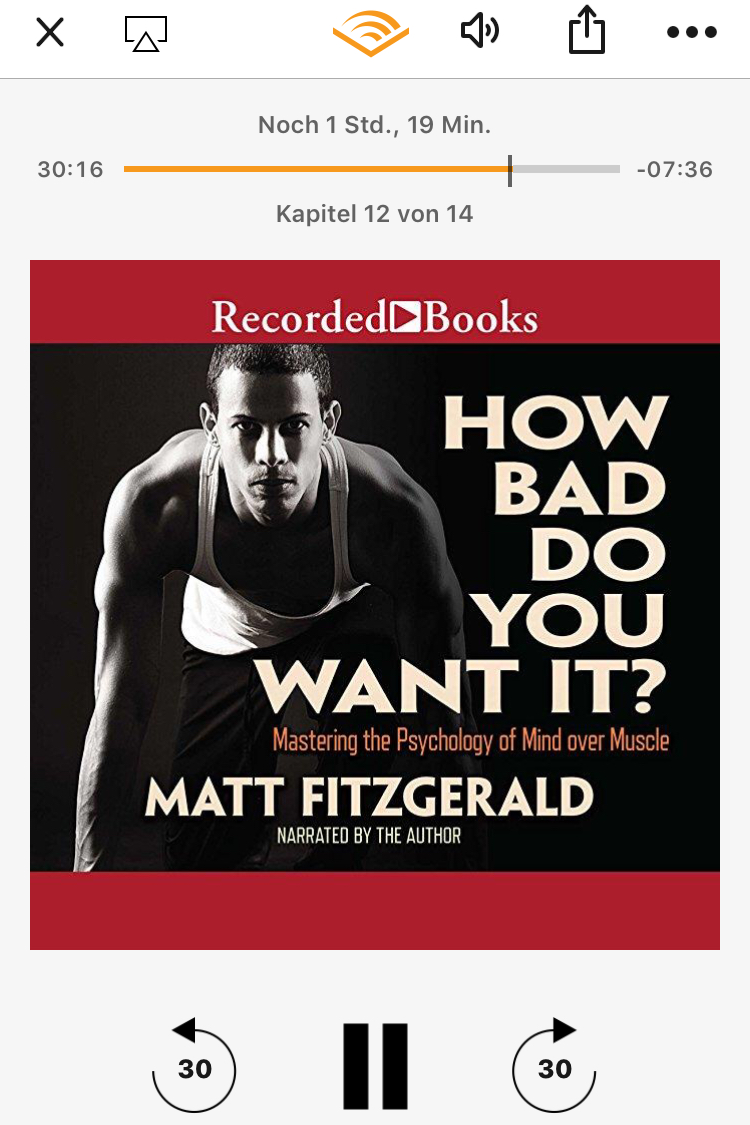 How Bad Do You Want It? Lesetipp / Hörtipp