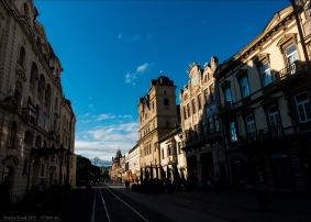 Straßenflucht in Košice
