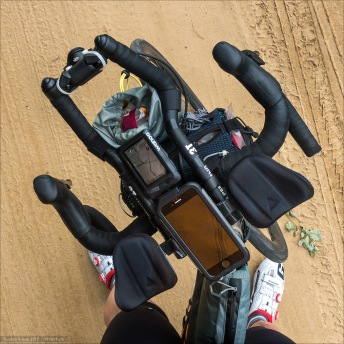 Cockpit über Sand