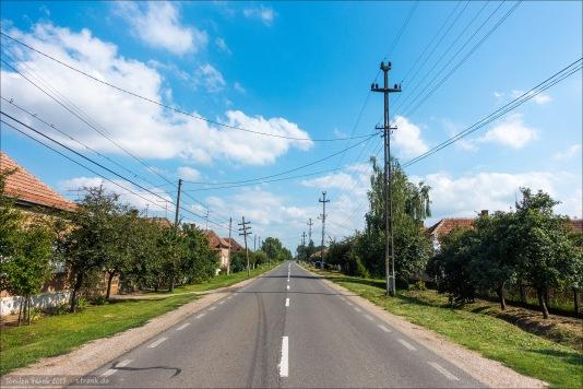Urziceni, der erste Ort in Rumänien direkt hinter der Grenze von Ungarn.