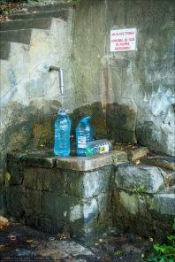 Stilleben nicht trinkbaren Wassers...