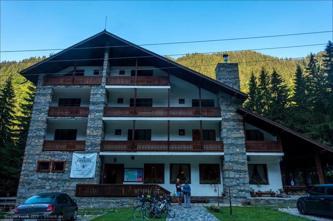 CP 4 im Chalet Bear Manor / Conacul Ursului am nächsten Morgen