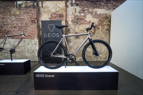 GEOS, schönes minimalistisches Pedelec, neu auf dem Markt.