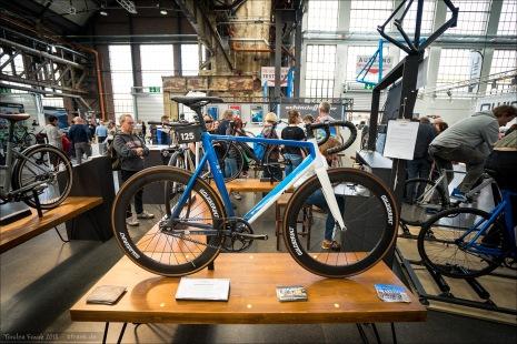 Schindelhauer-Stand. Ebenfalls ein Ersttäter auf der zweiten Cyclingworld.