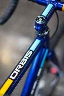 Das Orbis von Baum Cycles. Im typischen Farbdesign von Baum.