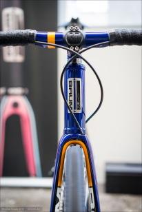 Das Orbis von Baum Cycles. Kein Gravel Grinder, sondern ein Vollblut-Rennrad - aber eben mit der Möglichkeit bis zu 34 mm Reifen für Superkomfort und maximalen Kurvengrip zu fahren.
