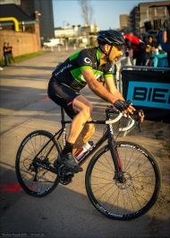 """Biehler Triple C - CyclingworldCycloCross: Fredi in Action. Die Wuppacrossa waren sogar mit drei """"Mann"""" äh, zwei Mann und eine Dame, vertreten. .:)"""