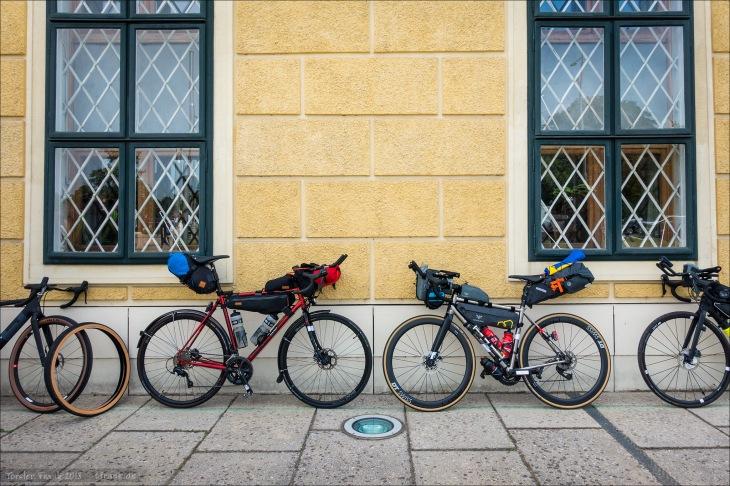 Winner's Bike and Winner Bike ;-) Ok, das sind alles Gewinner Bikes. Diese Beiden und die anderen. Aber eines wurde vom späteren Gewinner des TPBR gefahren und eines von mir. ;-)