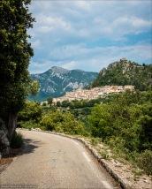 """Das """"höchstgelegene Küstendorf Frankreichs"""", das pittoreske Sainte-Agnès am Col de la Madone."""
